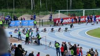 YAG 2016 P14 100m final