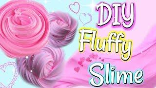 Walentynkowy Fluffy Slime DIY