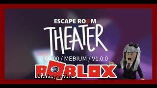 Escape Room How To Theater Escape Roblox 2018 #escaperoomroblox #roblox #roblox #gamermom