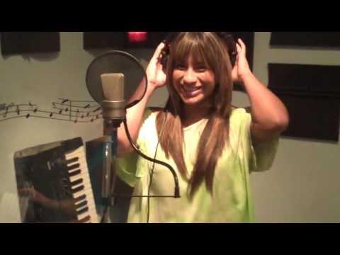 Foolin around in the studio (ally rare video)
