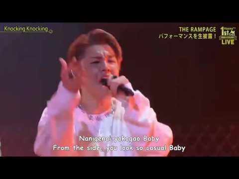 THE RAMPAGE from EXILE TRIBE - Knocking Knocking [Live] Romaji & English Sub