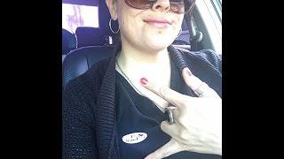 Annette Moreno Vota por Donald Trump y sus seguidores la critican