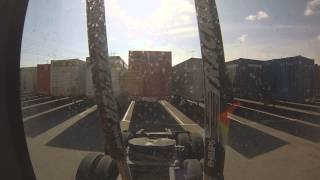 DROP and HOOK at the Rail Yard (TRUCKER POV)