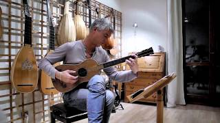 Video Rolf Lislevand plays A.Stradivari Sabionari, 1679 guitar - Santiago de Murcia - Tarantela download MP3, 3GP, MP4, WEBM, AVI, FLV September 2017