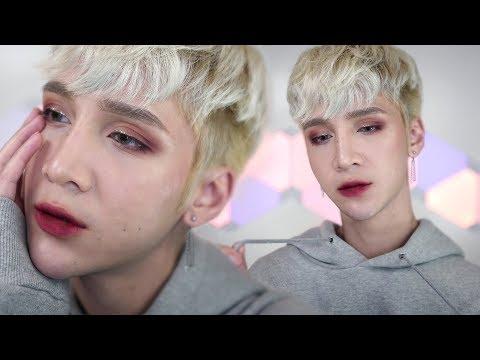 Matte Burgundy Vamp Makeup - Edward Avila