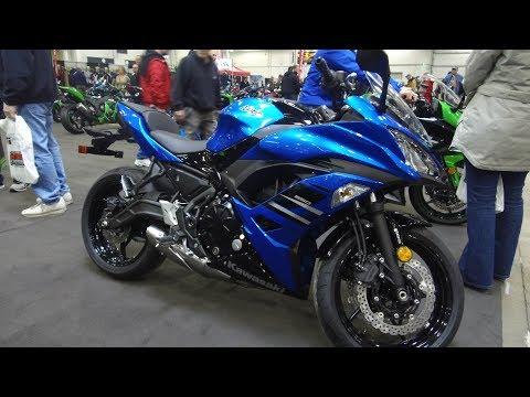 2018 Kawasaki Ninja 650 - 2018 North American International Motorcycle Supershow