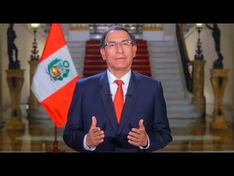 Martín Vizcarra brinda mensaje a la Nación tras referéndum   90 Central