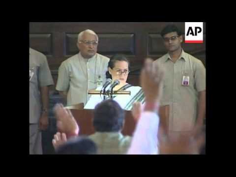 REPLAY Sonia Gandhi will not be India's new PM