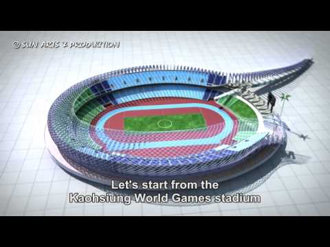 s02e11 Kaohsiung World Games stadium amd solar power