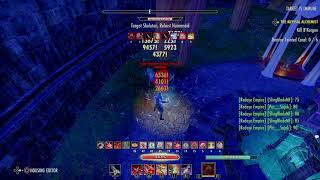 ESO 54.3k Stamblade Solo DPS Test on 6 mil (SS Chapter)