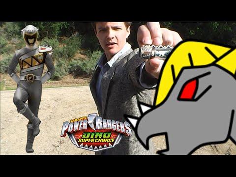 Power Rangers Dino Super Charge Graphite Morph