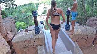 Tower of Courage Water Slide at Valley of Waves Sun City