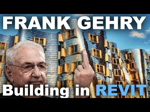 Funky Frank Gehry Building in Revit Tutorial