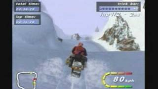(2000) Polaris SnoCross - Gameplay - PC