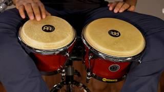 MEINL Percussion Latin Styles on Bongos - FWB400CR