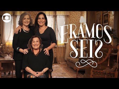 Éramos Seis: Gloria Pires recebe Lolas de outras versões da novela