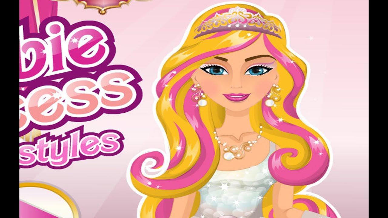 Hairstyles Games top barbie hairstyles games for girls prom braided hairstylesbig braided bun haircut Barbie Princess Hairstyles Games For Little Kids