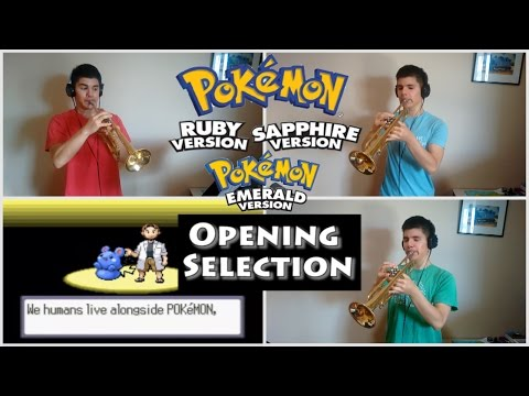 Opening Selection - Pokemon Ruby/Sapphire/Emerald (Trumpet cover)