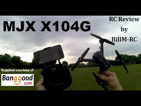 Фото MJX X104G review - GPS 5G Wifi FPV Quadcopter drone