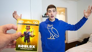 My BIGGEST ROBLOX SURPRISE YET ... (Roblox)