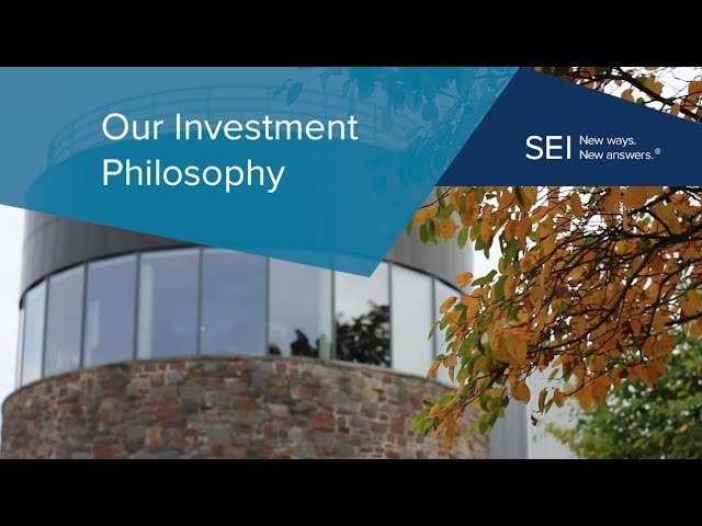 SEI Investment Philosophy