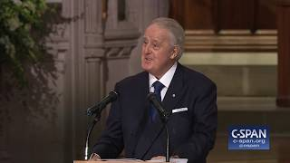 Former Canadian Prime Minister Brian Mulroney tribute at State Funeral for President George H.W. Bush. Full video here: http://cs.pn/2E3pIiE.