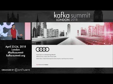 Stefan Bauer | Kafka Summit 2018 Keynote (Fast Cars in a Streaming World - AUDI)
