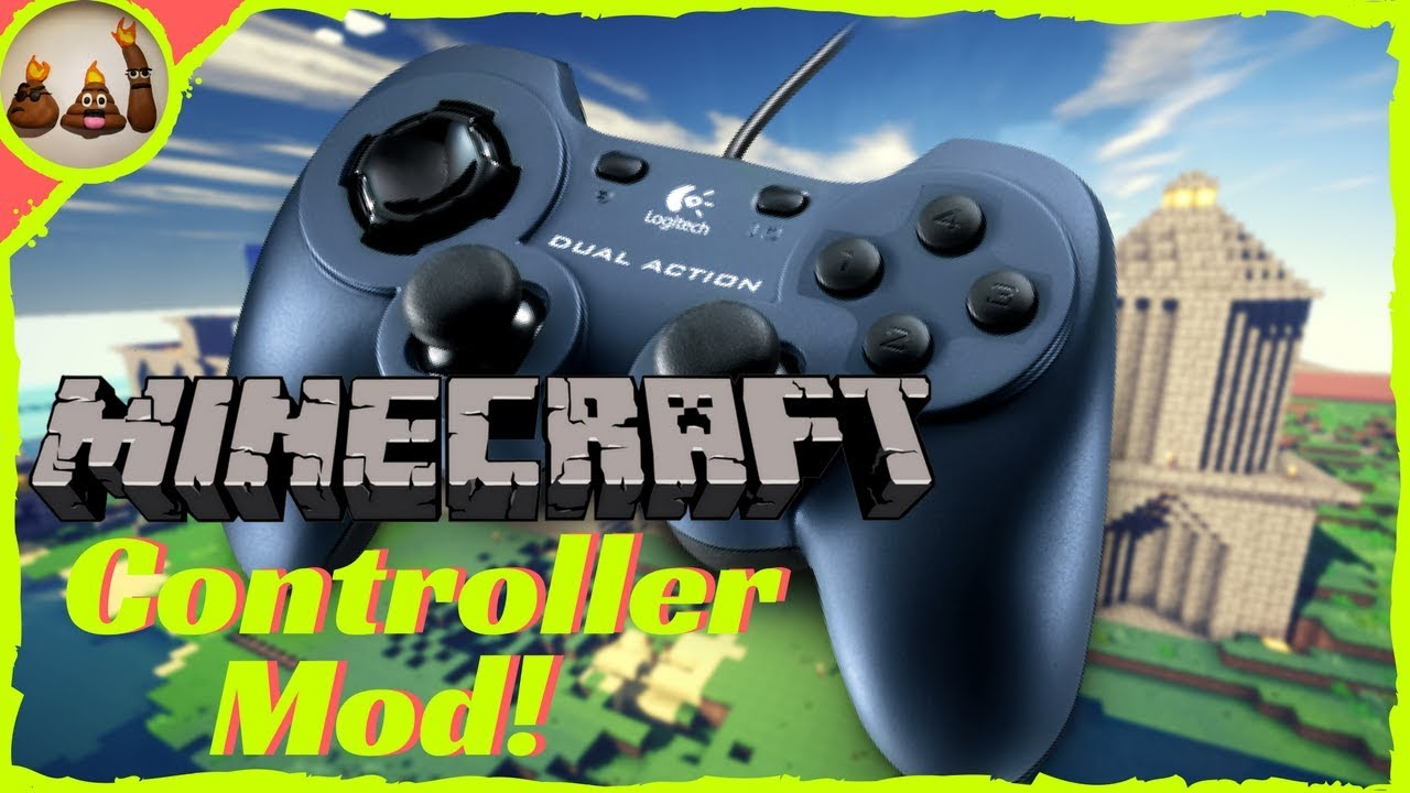 how to use a controller on pc minecraft