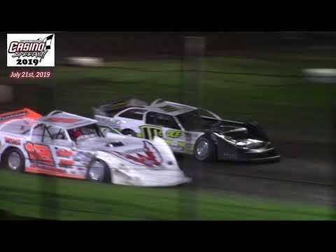 Casino Speedway WISSOTA Late Model A-Main (7/21/19)