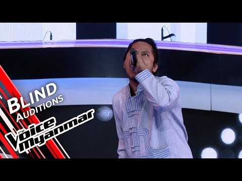 Novem Htoo - Spit It Out (Slipknot) | Blind Audition - The Voice Myanmar 2019