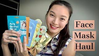 Cettua, Sally's Box, Esfolio Face Mask Haul |Kociety, My Beauty Diary, Snail White Review|Kem'sWorld