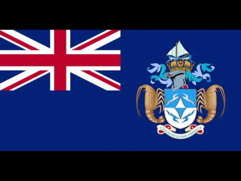 The anthem of the British Overseas Territory of  Tristan da Cunha