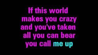 True Colors Karaoke - Cyndi Lauper - You Sing The Hits