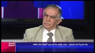 عارف مشاكرة يفضح فبركات المعارضة السورية في قضية خان شيخون