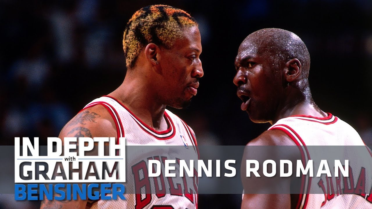 Dennis Rodman interview I never talked to Michael Jordan