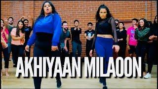 'AKHIYAAN MILAOON' - CHAYA KUMAR AND SHIVANI BHAGWAN | MADHURI DIXIT BOLLYWOOD DANCE