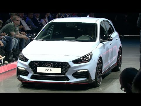 2018 Hyundai i30 Fastback i30N World Premiere Highlights