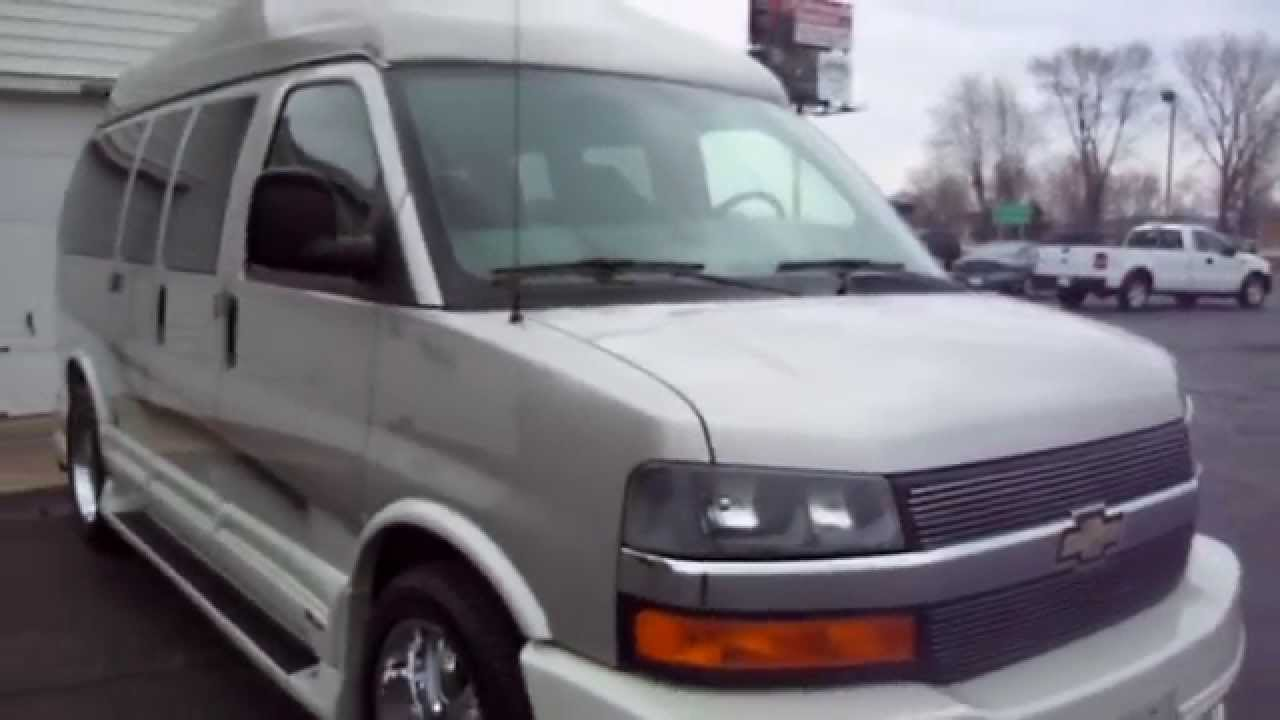 2006 Chevy Express High Top Conversion Van For Call 765 456 1788 You