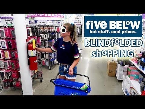 Shopping Blindfolded at