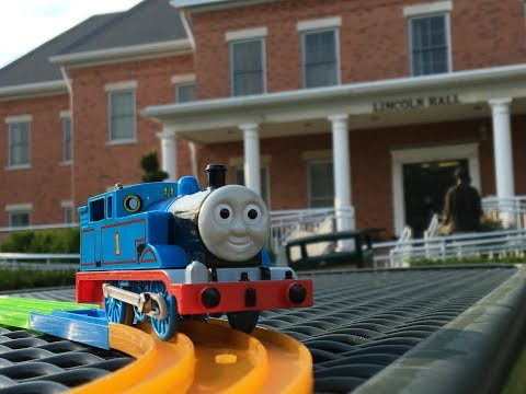 Plarail Thomas visit Danville Area Community College, Danville, Illinois 02803