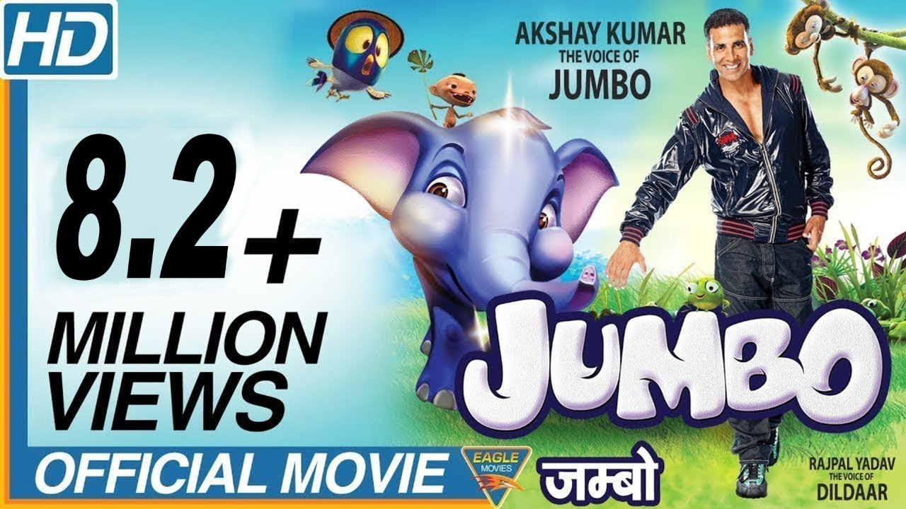 Jumbo Hindi Full Movie HD || Best Cartoon Movies || Akshay Kumar, Lara Dutta, Yuvraj Singh || Eagle