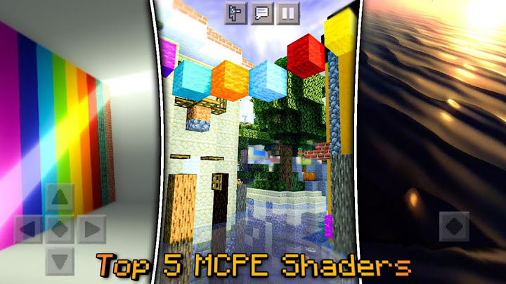 top 5 minecraft pe shaders that look insanely realistic  2021