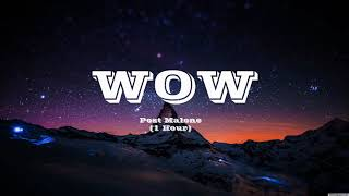 Post Malone - Wow (1 Hour)
