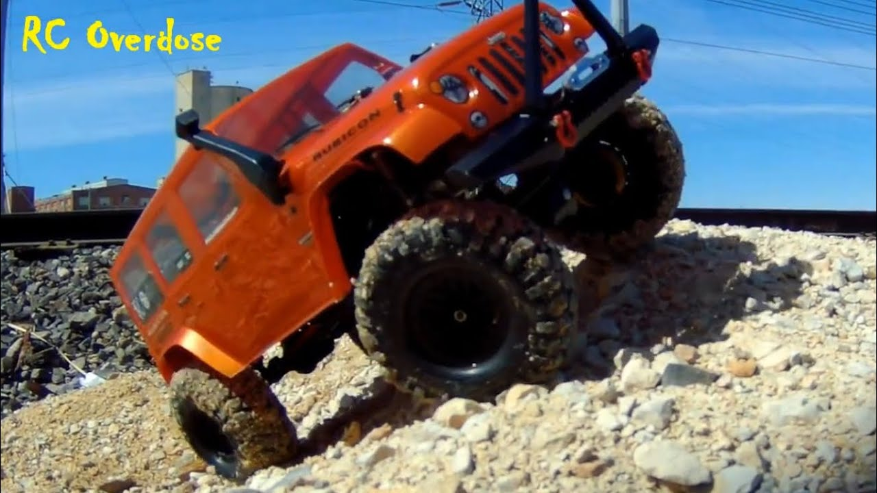 Jeep Rubicon Body (TRX4 Light Weight Body Option) Better Performance-RC  Overdose