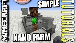 Minecraft PS4 - NANO FARM ( SIMPLE ) How To - Tutorial ( PS3 / XBOX ) TU27