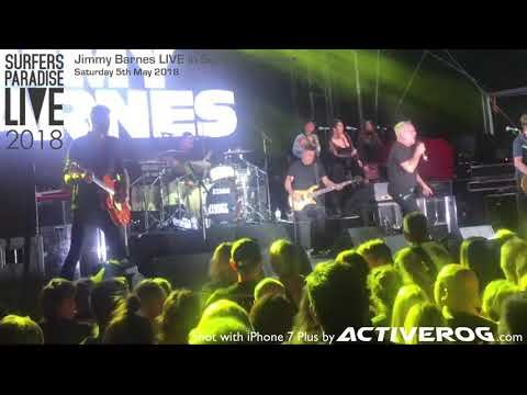 Jimmy Barnes Concert Highlights - Surfers Paradise LIVE 2018