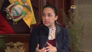 Balance Legislativo 2016. Gabriela Rivadeneira, presidenta de la Asamblea Nacional 15-08-2016