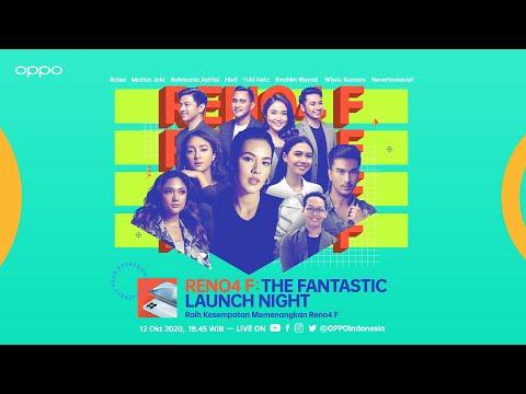 OPPO Reno4 F Fantastic Launch Night | WIN Reno4 F & Enco W51