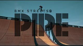 Bmx Street pipe pool tricks
