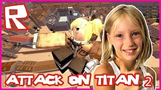 Attack on Titan - AWESOME TEAMMATES | Roblox